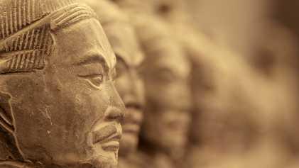 Chine : découverte d'une petite armée de terre cuite vieille de 2000 ans