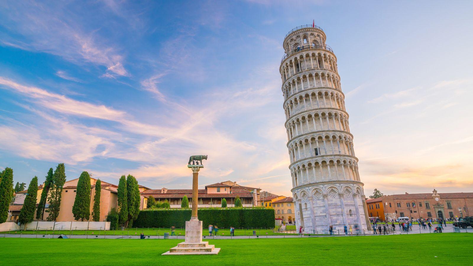 La Tour de Pise s'est affaissée dès le début de sa construction : le sol sur ...