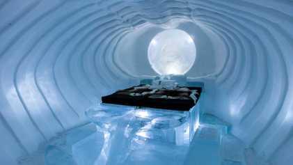 9 igloos et hôtels de glace où passer la nuit