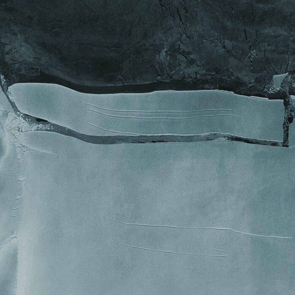 Le plus gros iceberg au monde s'est détaché de l'Antarctique