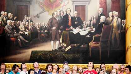 Le 4 juillet, symbole de la déclaration d'indépendance américaine