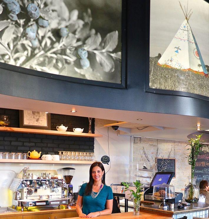 Au Feast Café Bistro de Winnipeg, au Manitoba, la cheffe et propriétaire Christa Bruneau-Guenthur aime faire ...