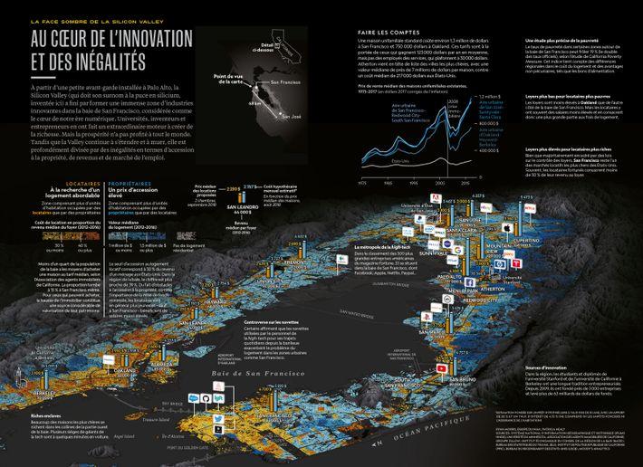 Infographie parue dans le numéro 233 du magazine National Geographic, daté de février 2019.