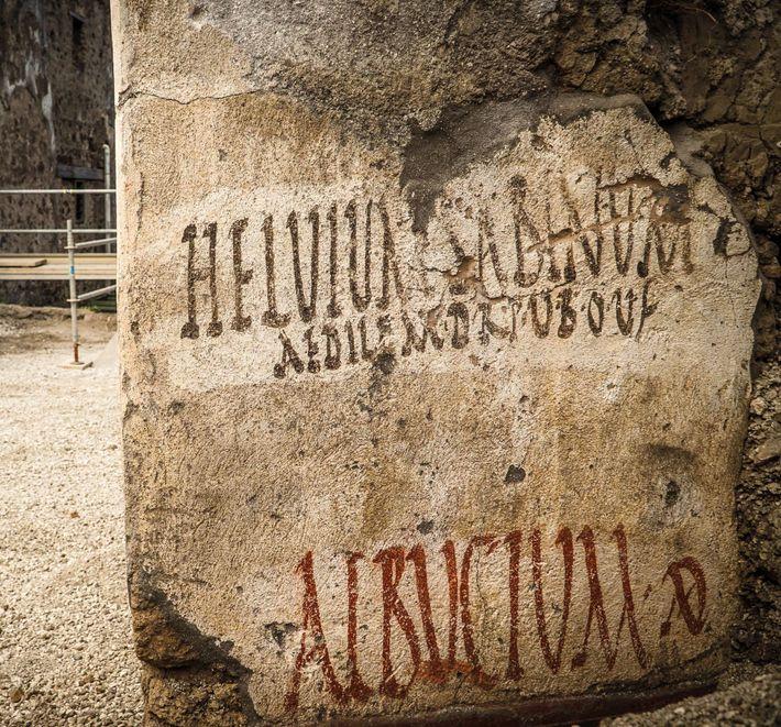 Des inscriptions politiques ont été retrouvées au croisement de la rue des balcons et de la ...