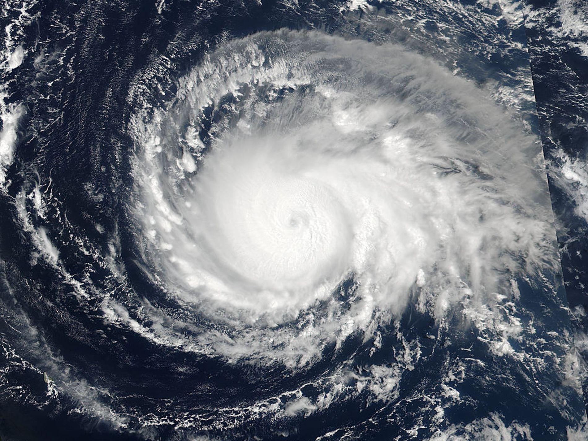 Le changement climatique augmenterait l'intensité des ouragans