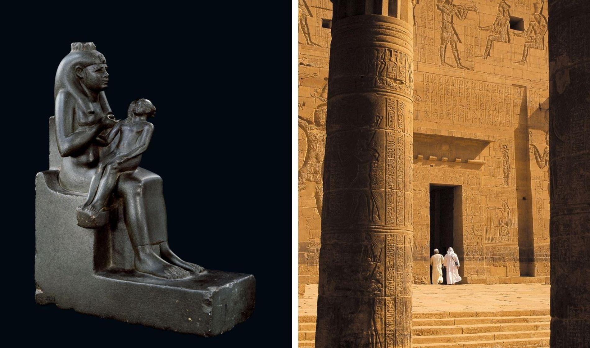 L'adoration d'Isis s'étend à travers la longue histoire de l'Égypte antique. Sur cette statue créée entre ...