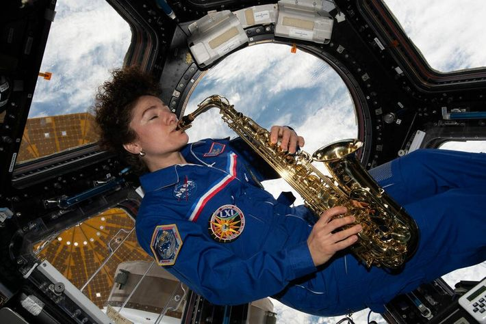 Avant de revenir sur Terre en avril 2020, Jessica Meir, astronaute de la NASA et mécanicienne navigante de ...