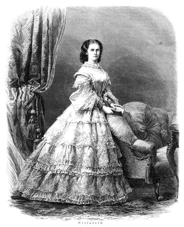Lors de ses nombreux déplacements, l'impératrice Élisabeth emportait toujours avec elle une trousse à pharmacie bien ...