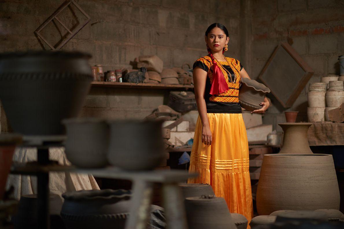 Le village d'Ixtaltepec est réputé pour ses travaux d'argile, dont une grande partie ont été détruits ...