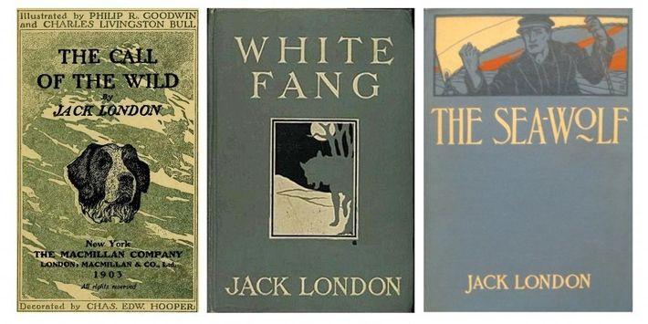 L'Appel de la forêt (1903) fut le premier succès commercial de Jack London, dans lequel il ...