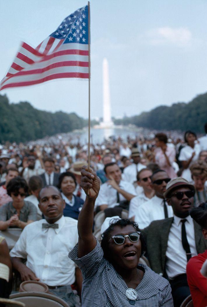 La marche sur Washington pour l'emploi et la liberté a duré toute la journée du 28 ...