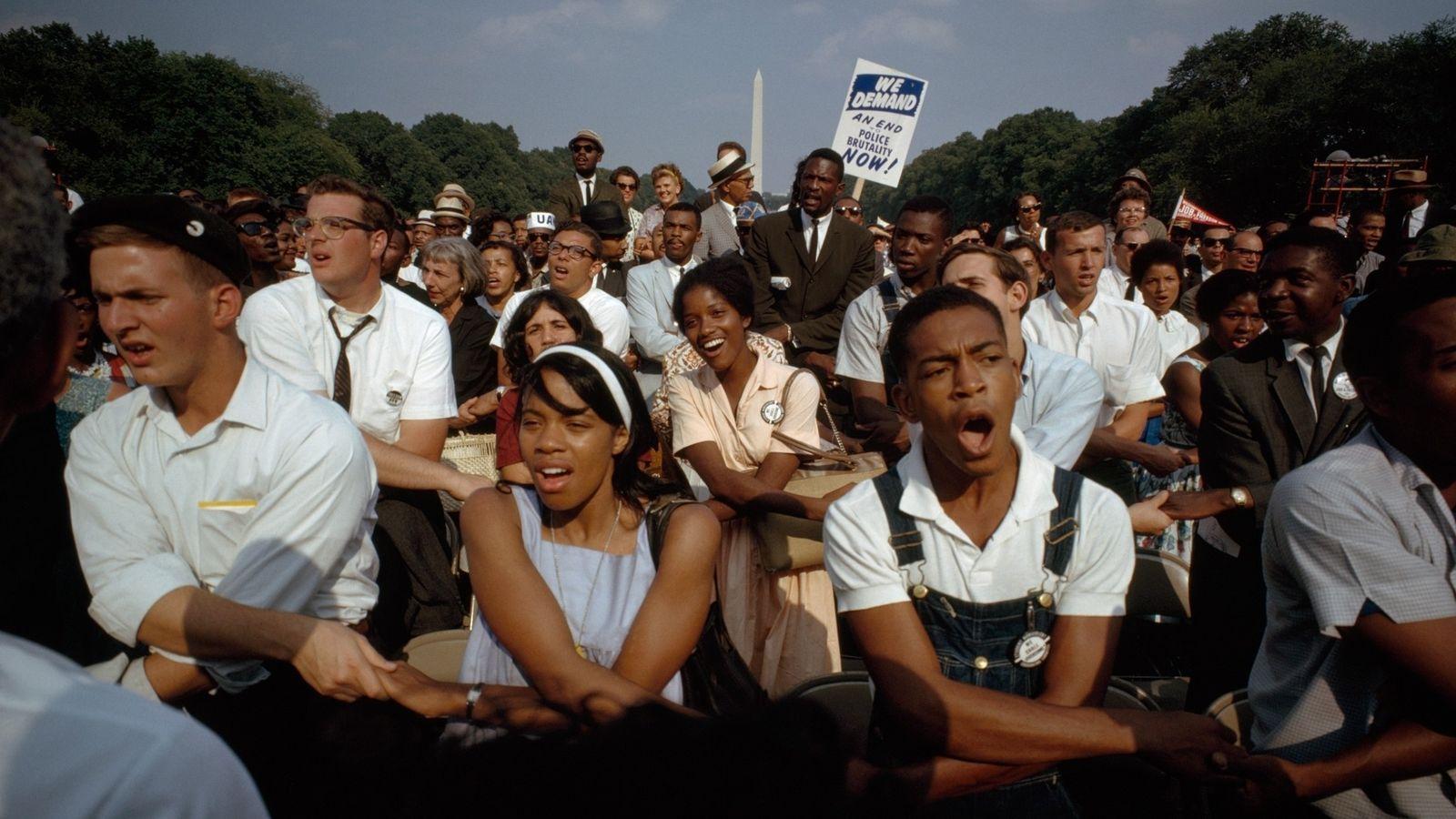 La marche de 1963 sur Washington pour l'emploi et la liberté a rassemblé des personnes issues ...