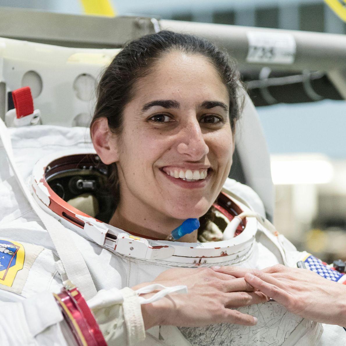 Jasmin Moghbeli - promotion d'astronautes 2017.