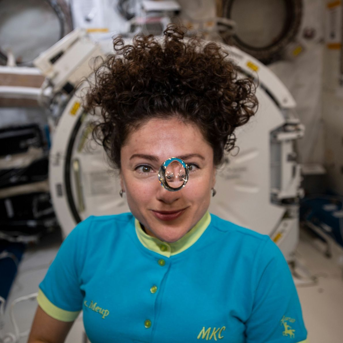 Jessica Meir - promotion d'astronautes 2013, 205 jours dans l'espace.