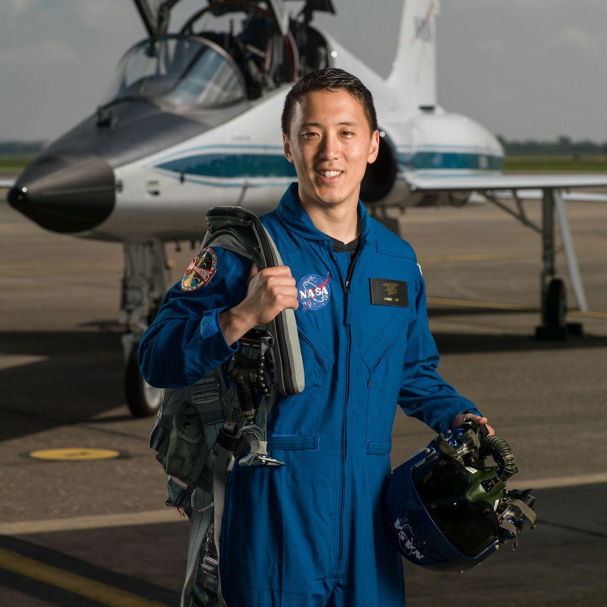 Jonny Kim - promotion d'astronautes 2017.