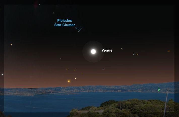 Le 5 juillet, les observateurs pourront assister au passage de l'« étoile du matin » Vénus ...