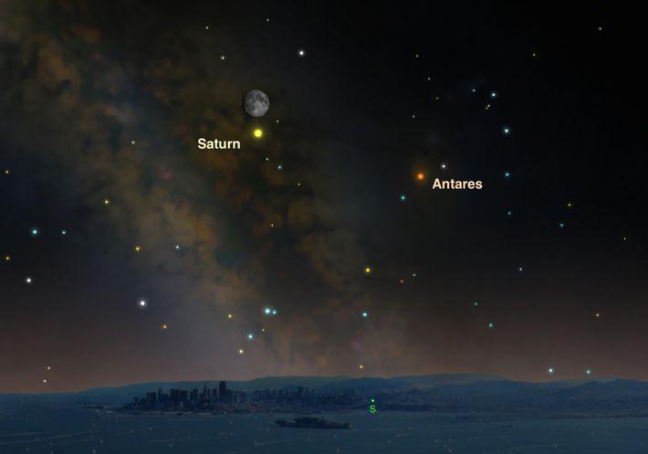 Il y a moins d'un mois, Saturne a été plus proche qu'elle ne l'a jamais été ...