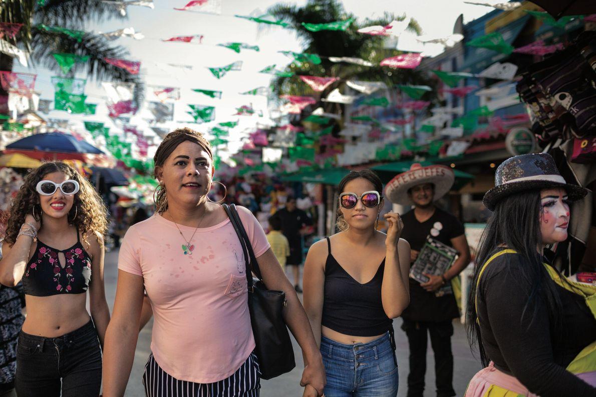 Tijuana, à la frontière mexico-américaine, a marqué le début de sa procédure de demande d'asile. Elle ...