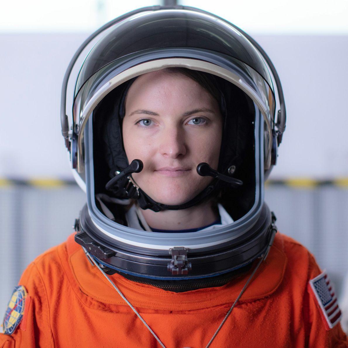 Kayla Barron - promotion d'astronautes 2017.