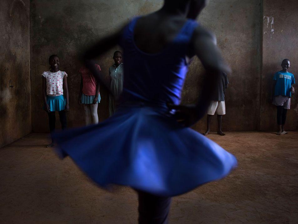Nairobi, dans les chaussons des ballerines