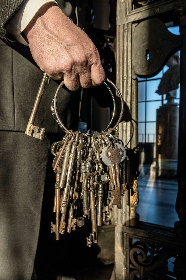 « J'ai les clefs qui ouvrent les portes de l'histoire de l'art et l'histoire de la ...