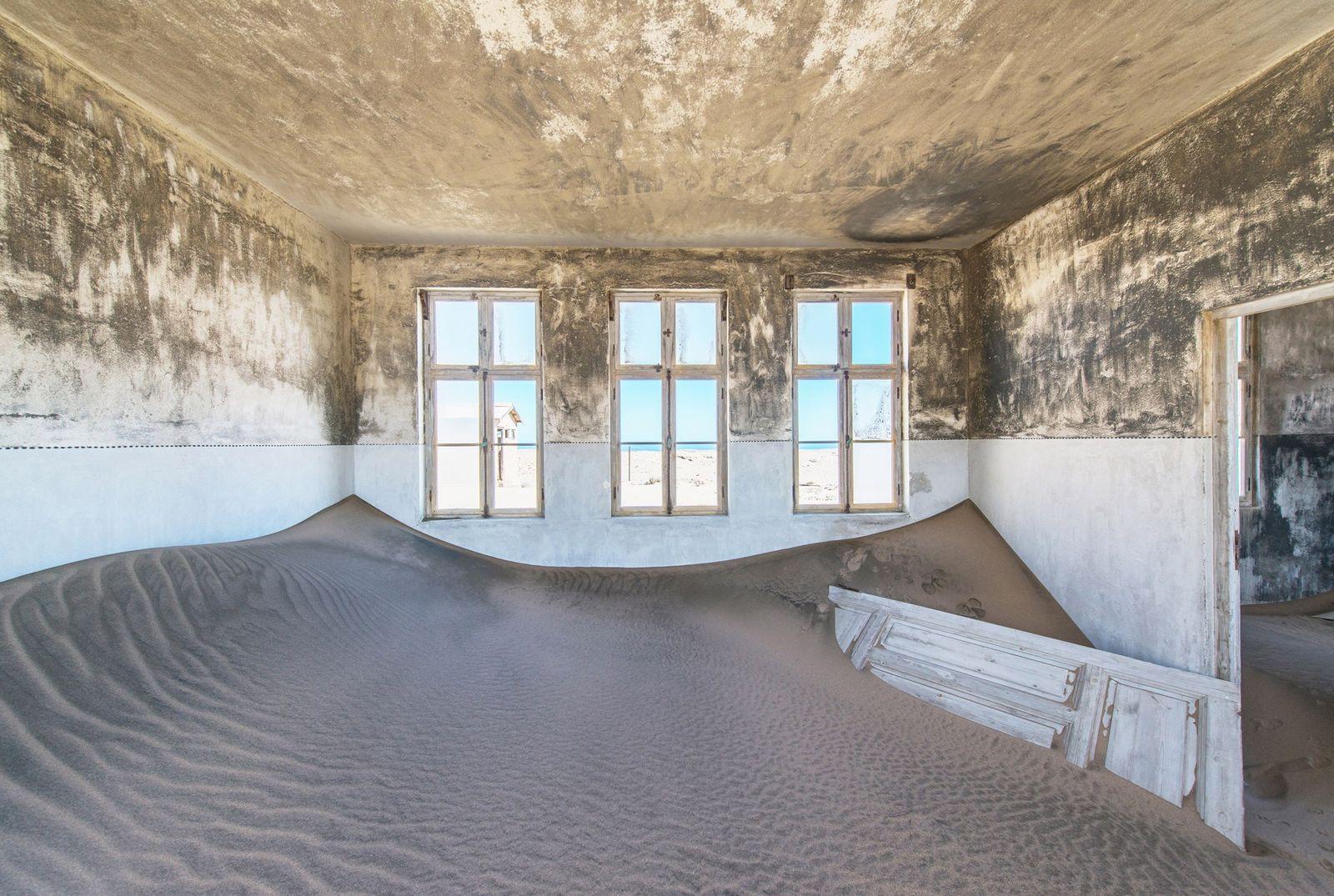 En Namibie, cette ville fantôme est devenue une attraction touristique
