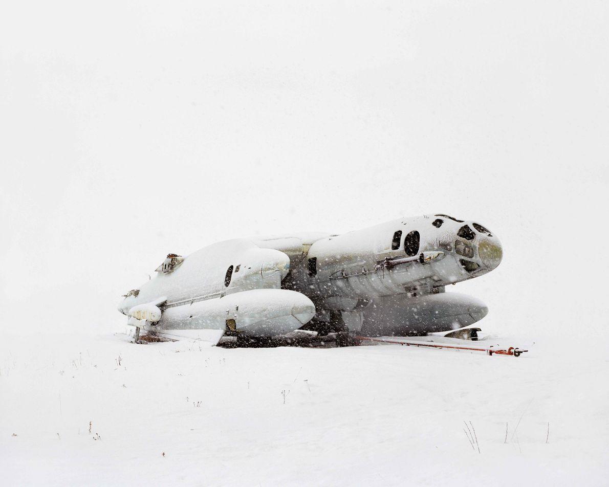 L'avion amphibie est cloué au sol