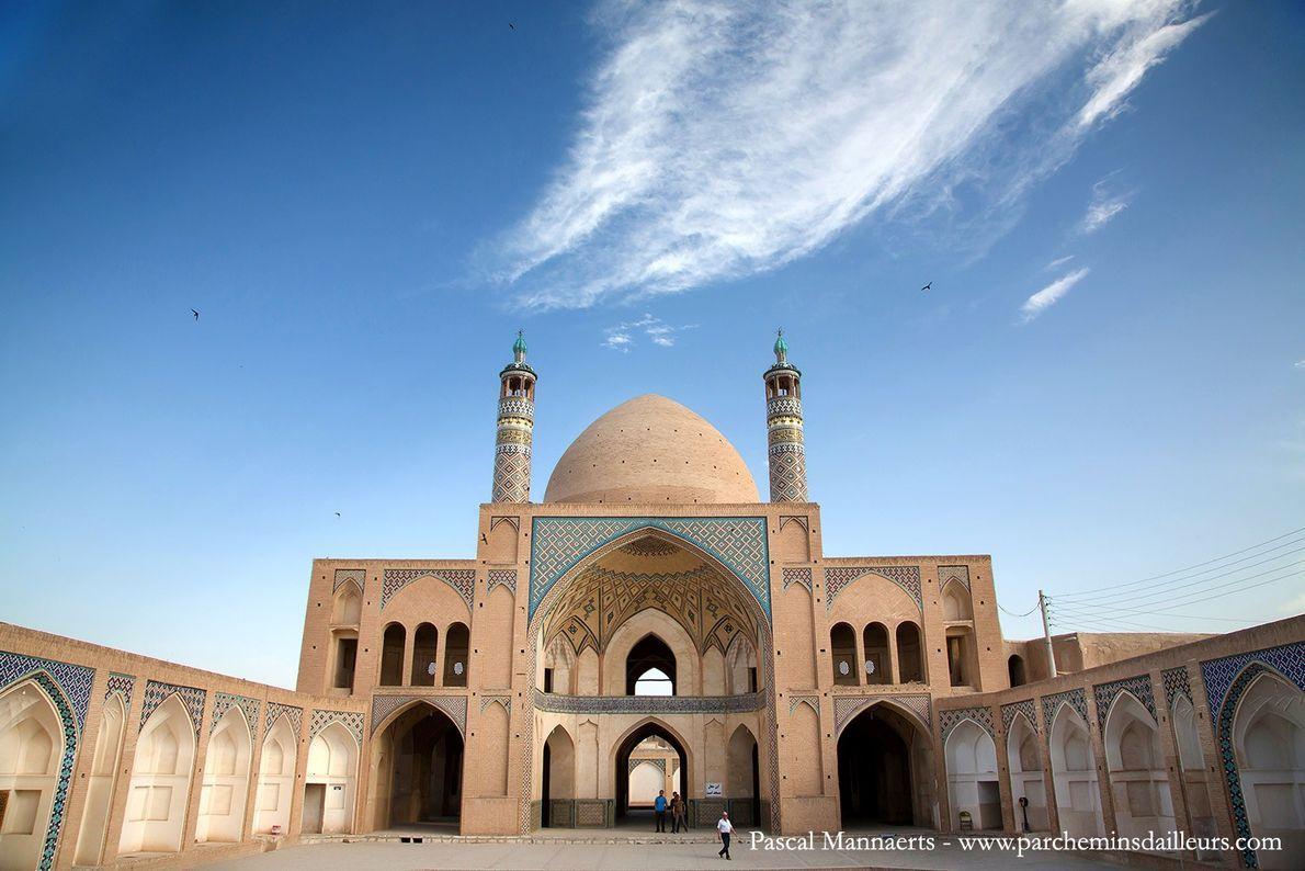 La mosquée Agha Bozorg