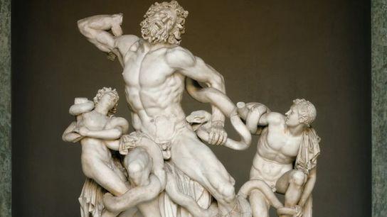 Le groupe de Laocoon est exposé au musée Pio-Clementino du Vatican. Découvert en 1506, il était ...