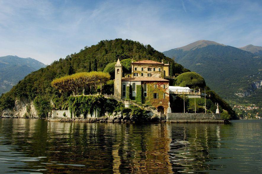 Le lac de Côme en Italie - Lieu de tournage de la planète Naboo, Star Wars ...
