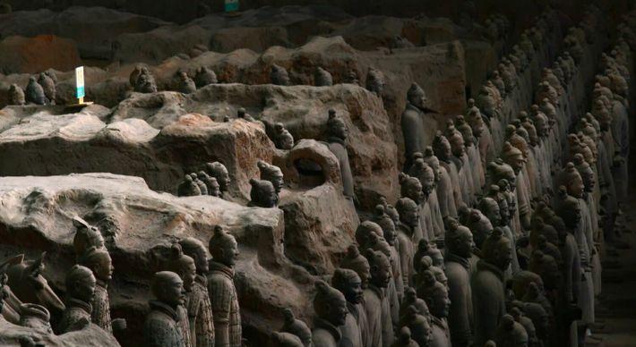 L'armée de terre cuite du premier empereur de Chine