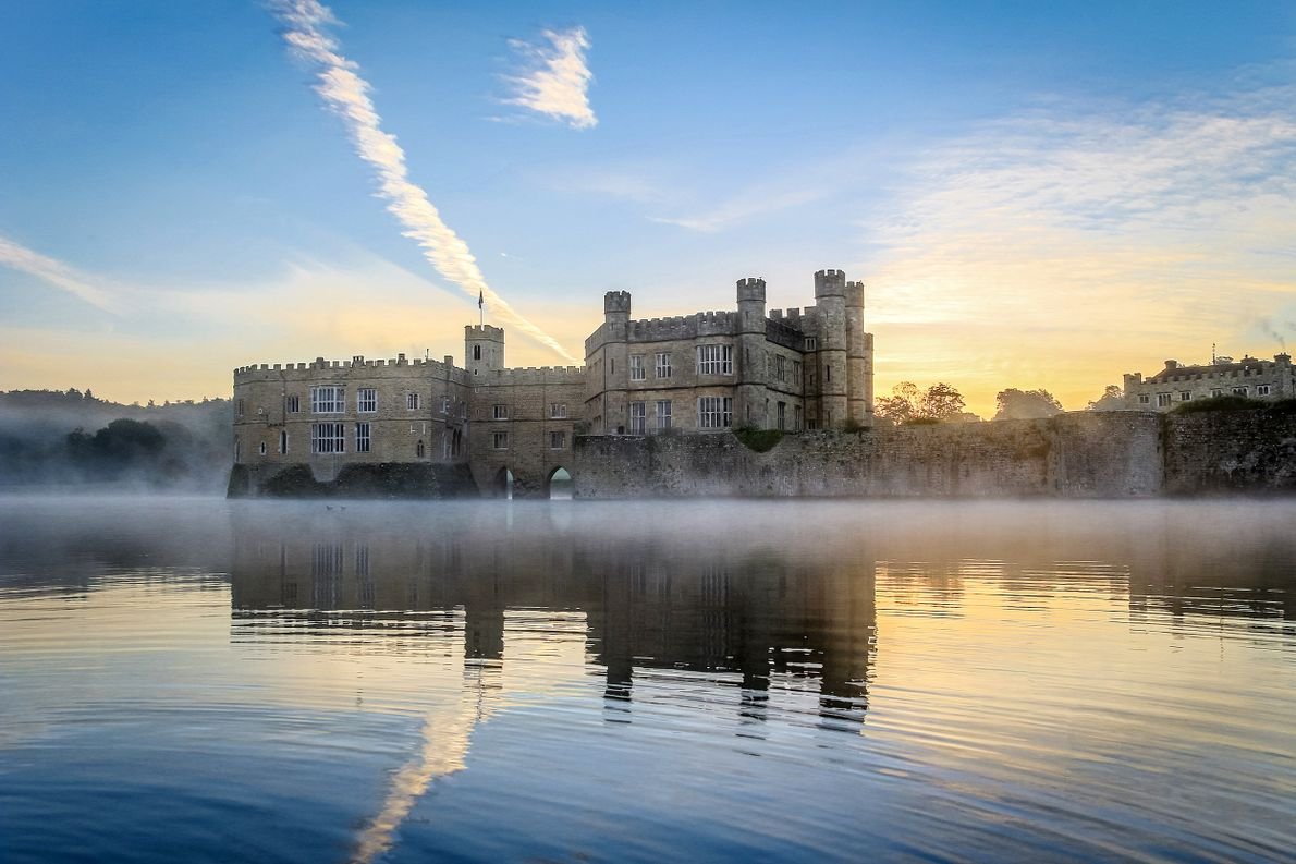 LEEDS CASTLE, KENT, UNITED KINGDOM