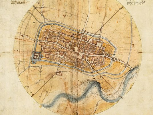 Comment Léonard de Vinci a fait de l'art de la cartographie une science