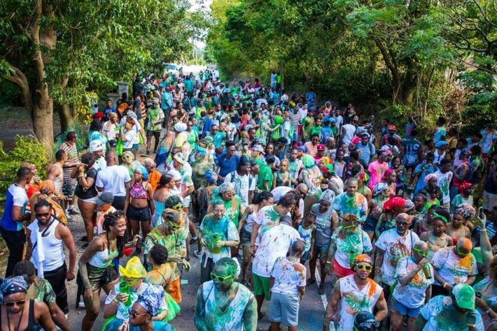 Montserrat Crowd