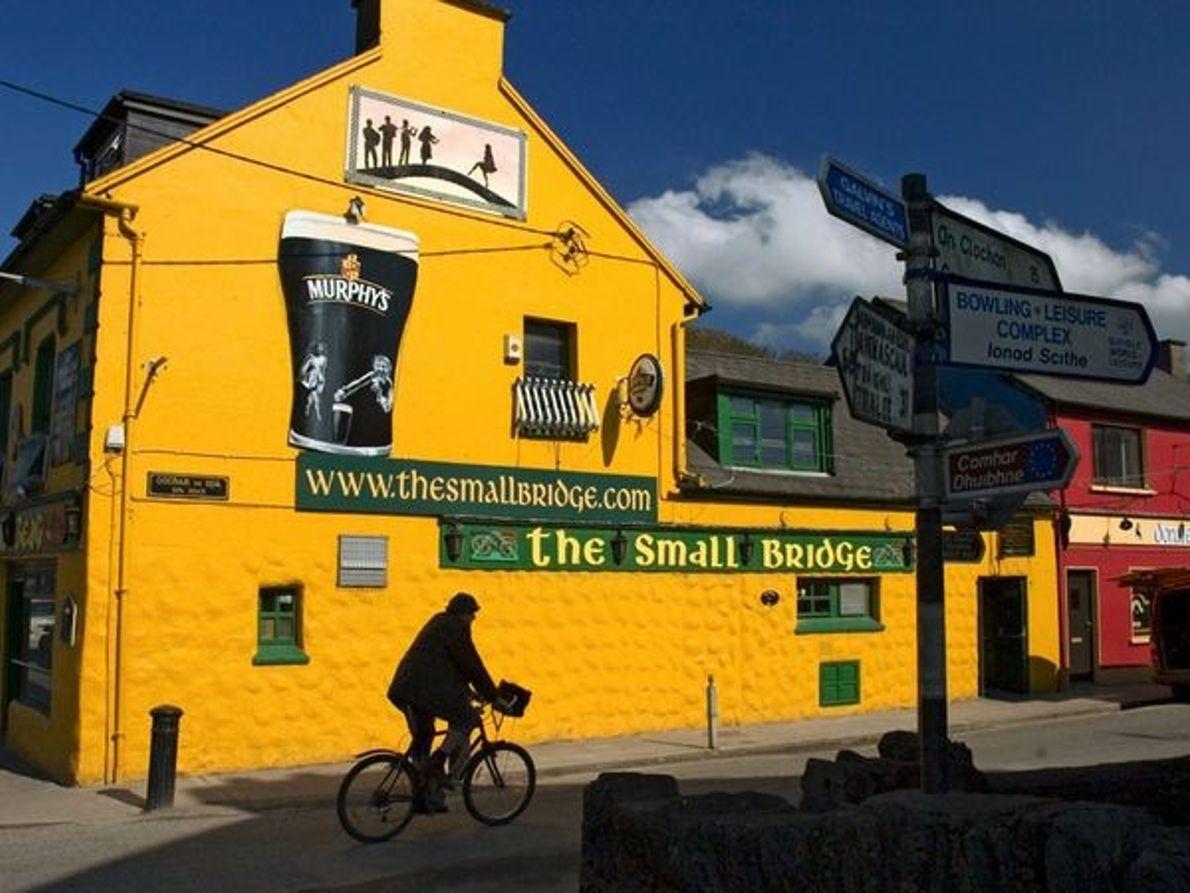 Pub sur la péninsule de Dingle