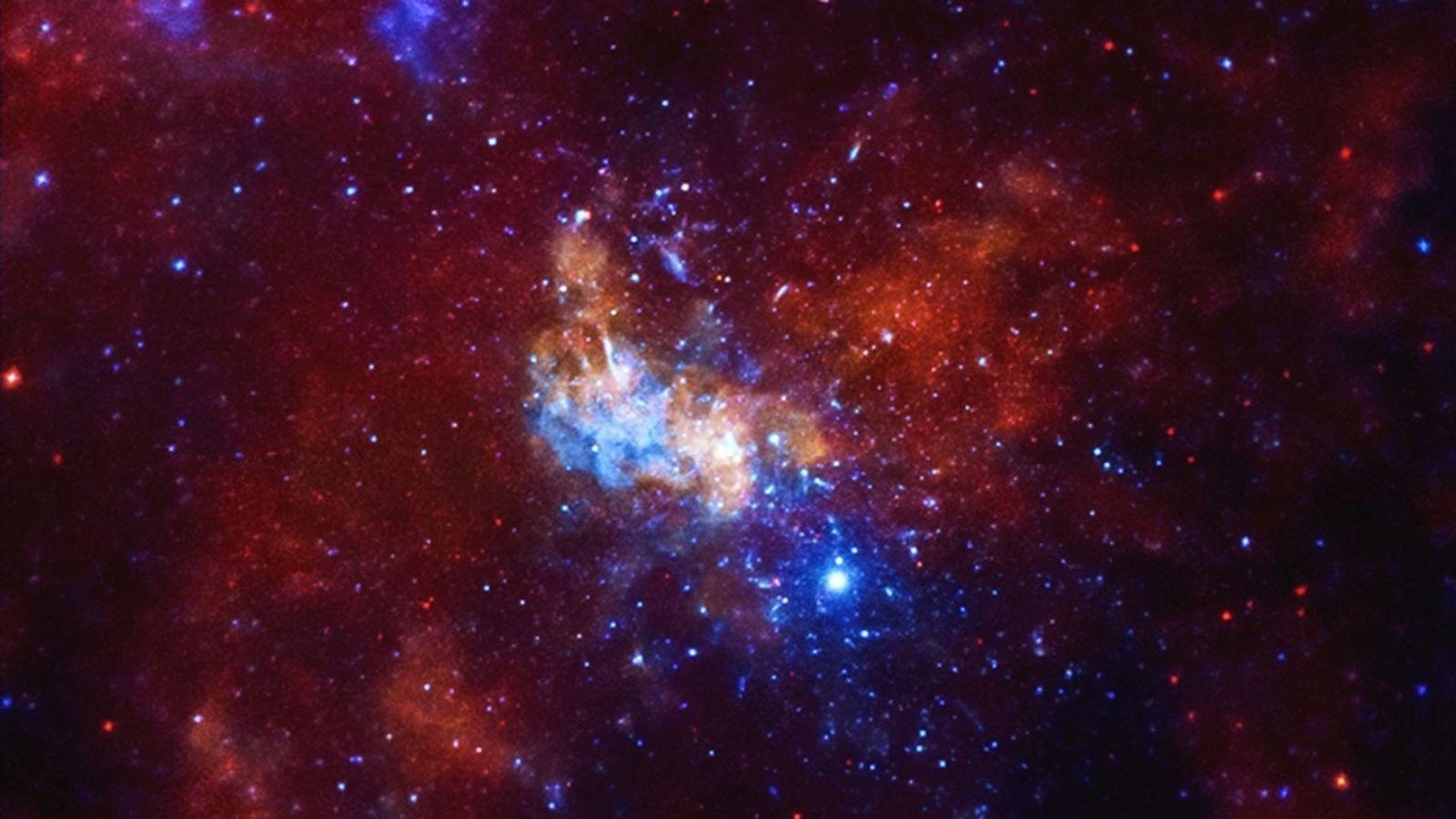 Sagittaire A* - Images de la NASA