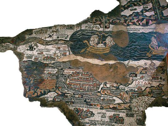 Cette carte est la plus ancienne jamais découverte en Terre sainte