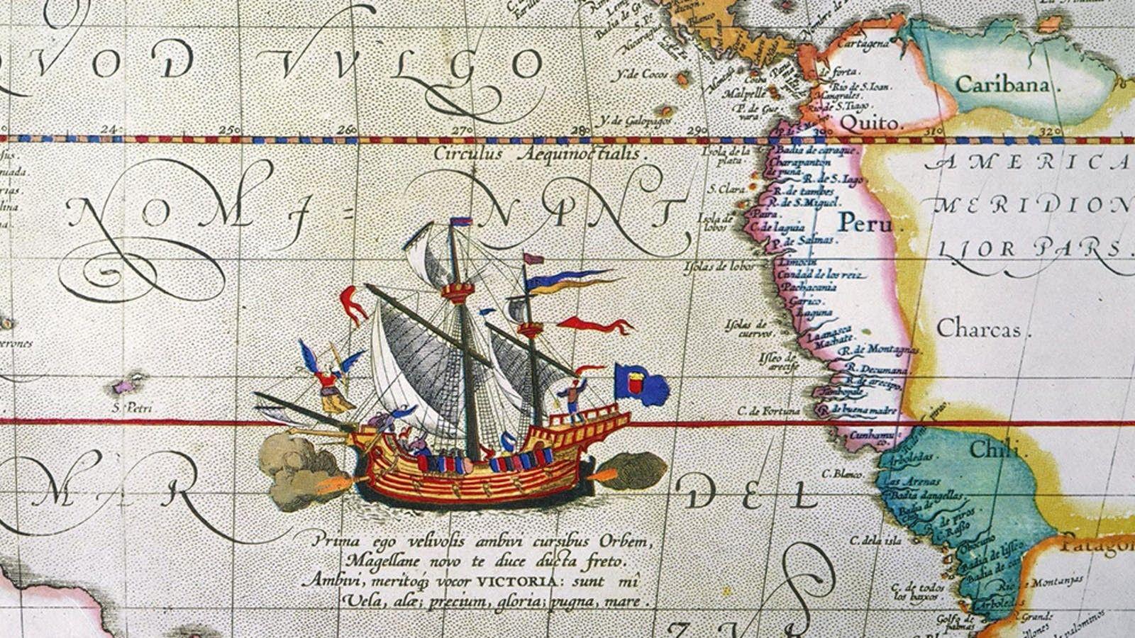 En septembre 1519, Magellan quittait l'Espagne avec une flotte de cinq navires. Trois ans plus tard, ...