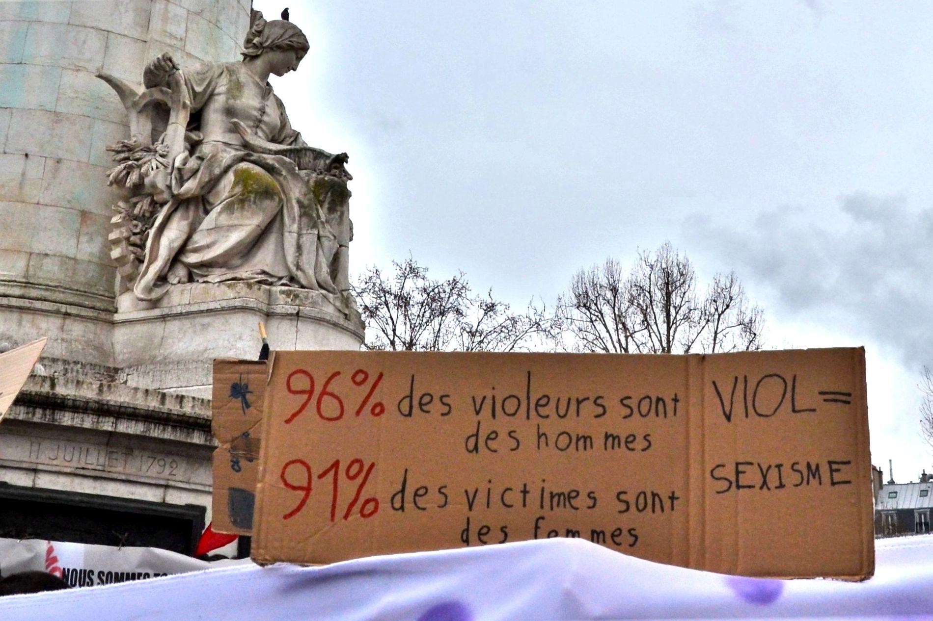Manifestation pour le droit des femmes, 8 mars 2019.