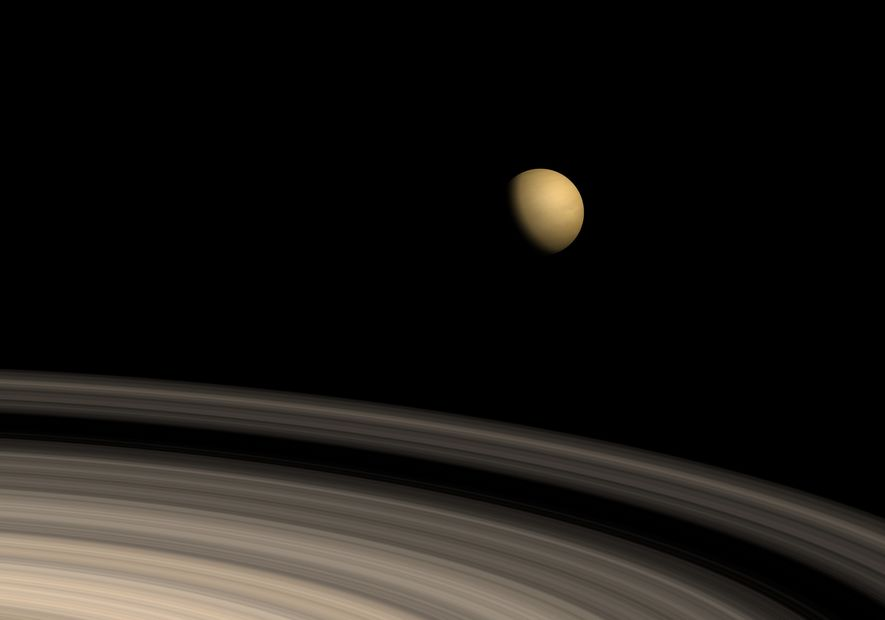 Un immense couloir de glace découvert sur Titan, la lune de Saturne