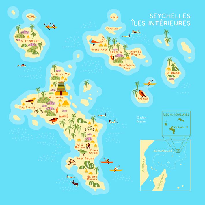 Chacune des îles intérieures des Seychelles a une expérience unique à offrir.