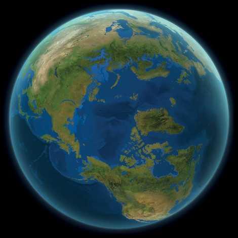 Voici à Quoi Ressemblerait Le Monde Si La Glace Continentale