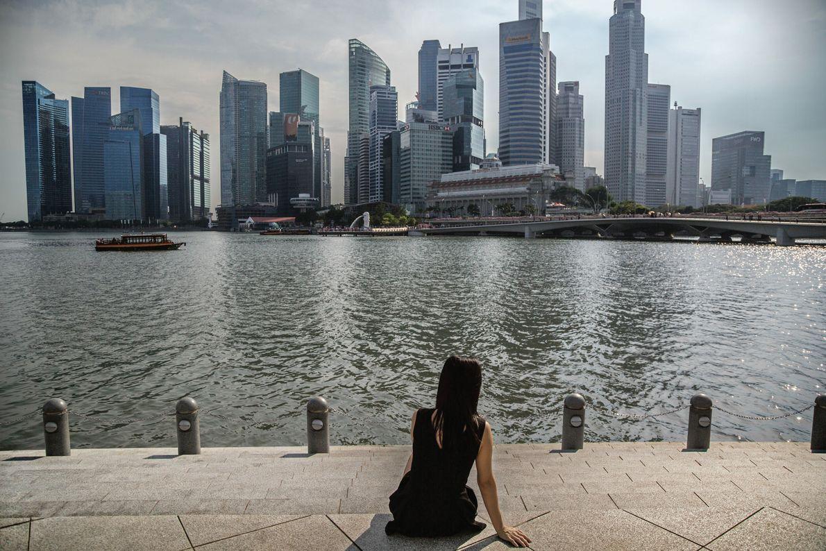 Cette Vietnamienne a épousé un Singapourien il y a onze ans et a eu deux enfants ...
