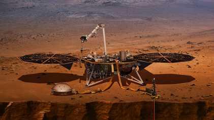 Le premier tremblement de Mars détecté par la NASA