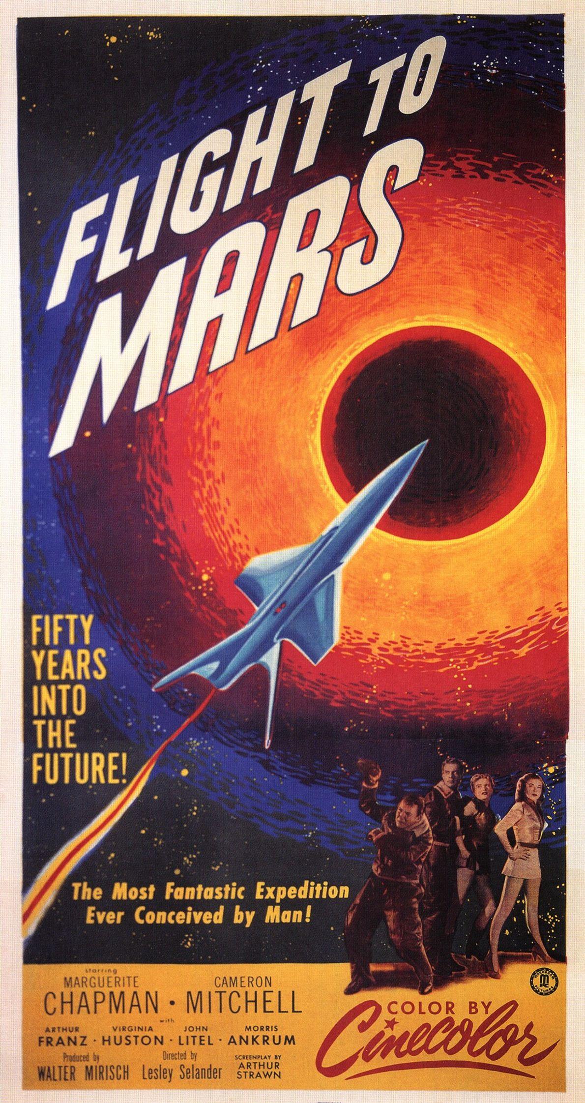 1951 : Destination Mars  Dans ce film de science-fiction, des scientifiques arrivent sur Mars, où ils découvrent une ...