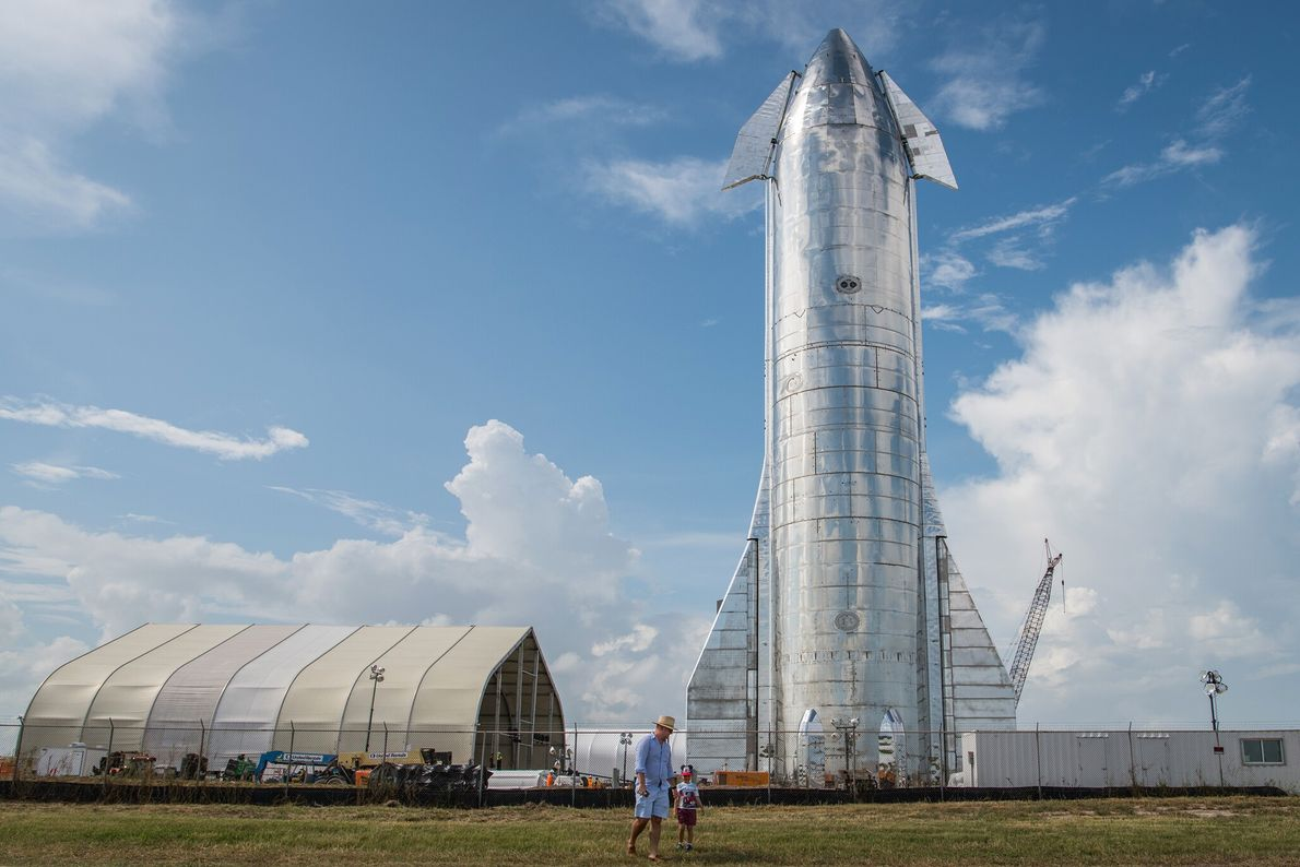 2019 : Starship  Si Elon Musk, le PDG de SpaceX, parvient à ses fins, une version du véhicule de ...