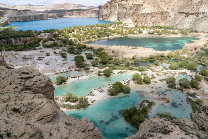 Turquoise Lakes