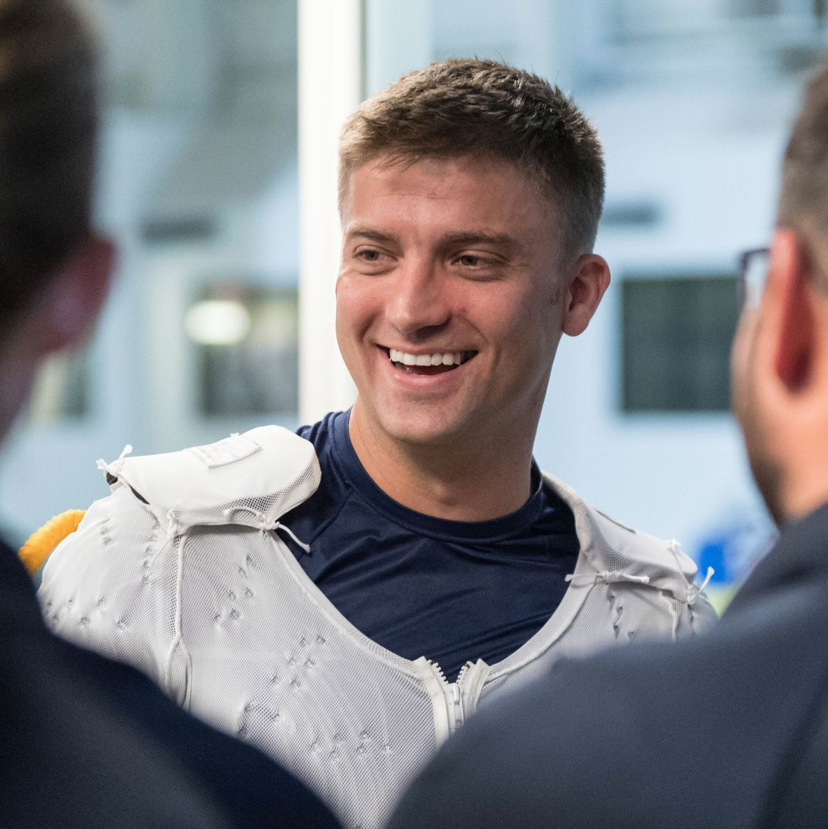 Matthew Dominick - promotion d'astronautes 2017.