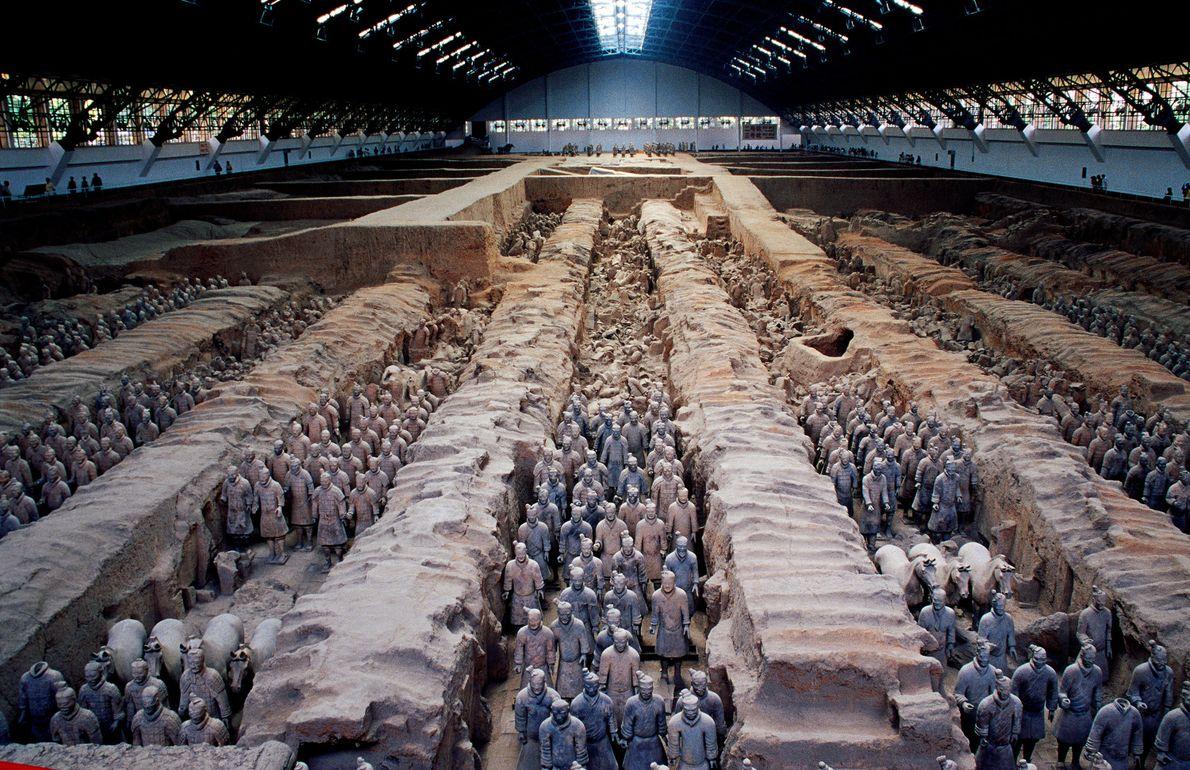Mausolée du premier empereur Qin