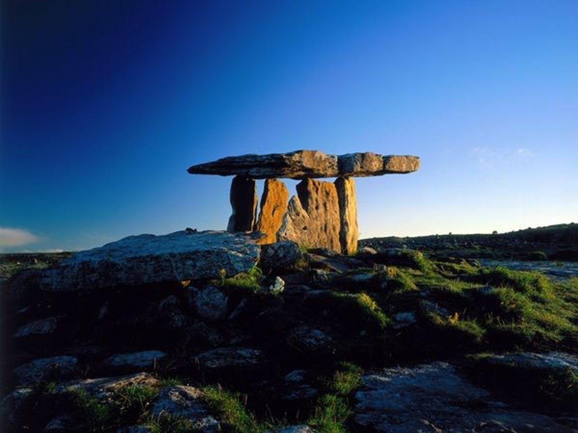 Le dolmen de Poulnabrone